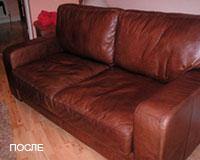 Обивка мебели после