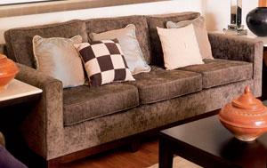 Обивка мягкой мебели тканью